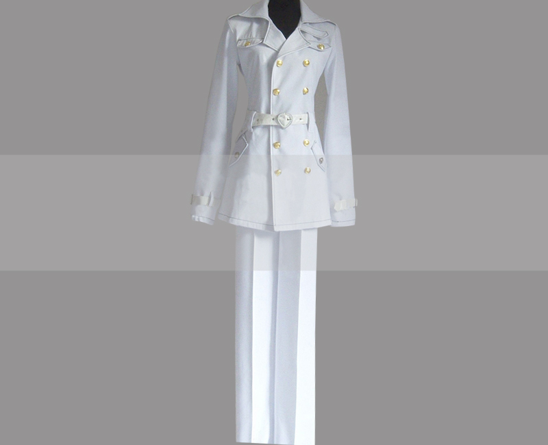 Blue exorcist mephisto honorary knight cosplay uniform for sale