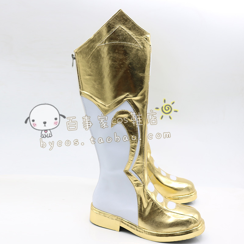 Captain marvel Billy Batson DC Shazam new ver 2 cos Cosplay Shoes boots  #AT71