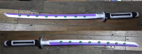 Ao no Exorcist Shura Kirigakure Sword Fang Cosplay Replica Weapon Buy