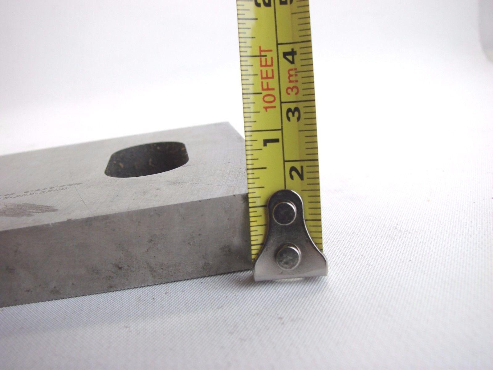 "3 Zenith Cutter Granulator Knives Chompers 540936 14-3/4 x 3"" X 1/2"" 5-Hole b377"