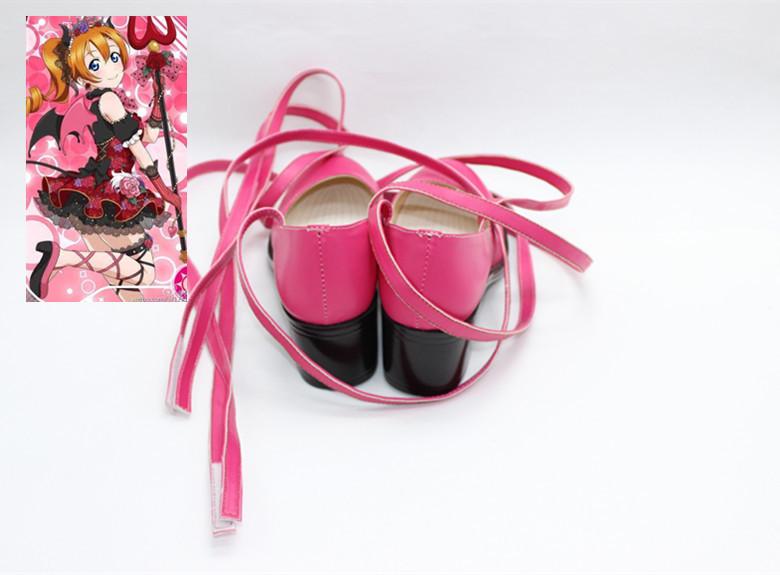 lovelive love live Halloween awaking little evil Honoka Kousaka Cosplay Shoes