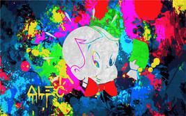 Alec Monopoly Amazing HD print on Canvas Urban art wall decor Dillon boy... - $35.63