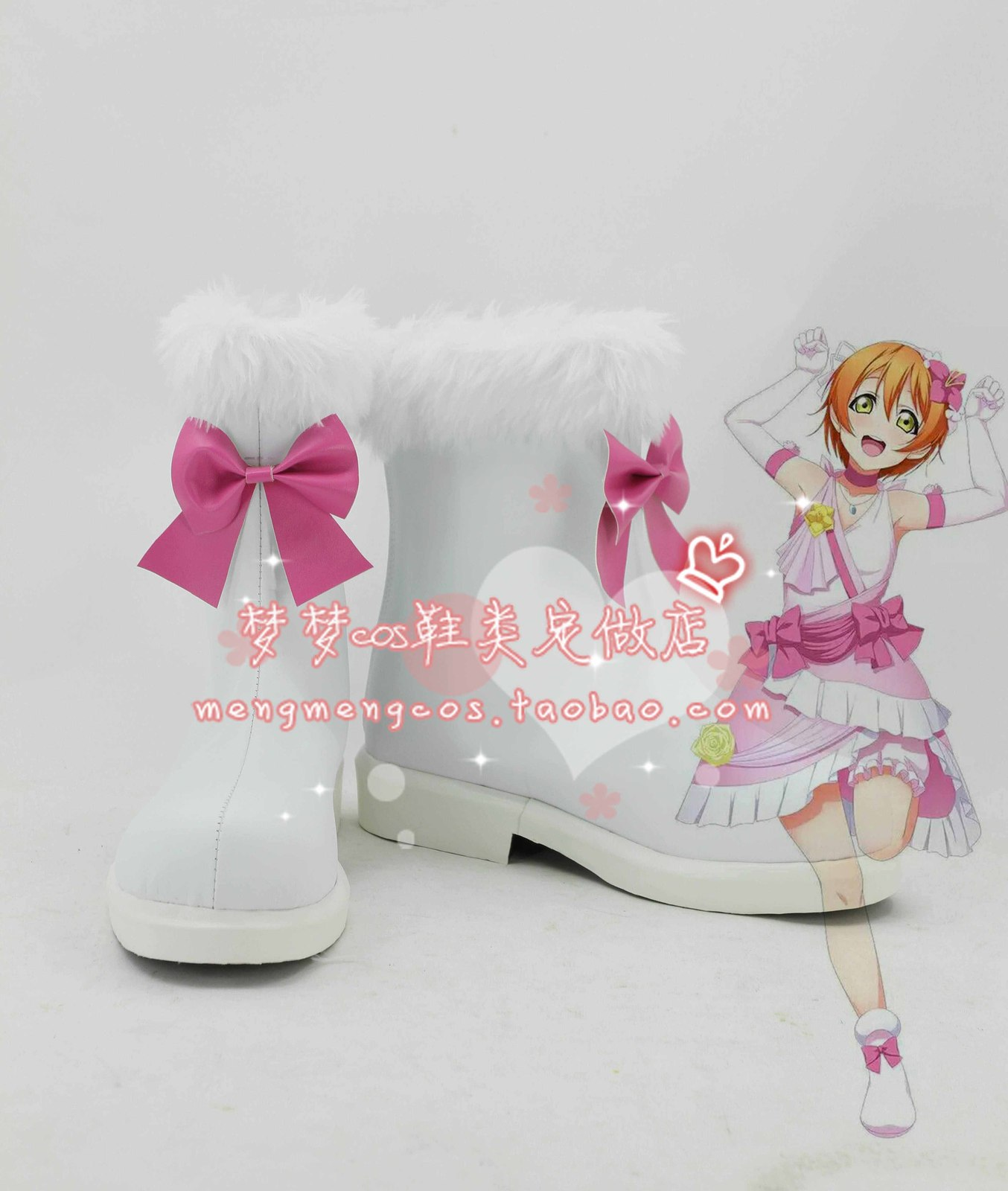 lovelive love live Future style us Rin Hoshizora os Cosplay Shoes boots  #AT10