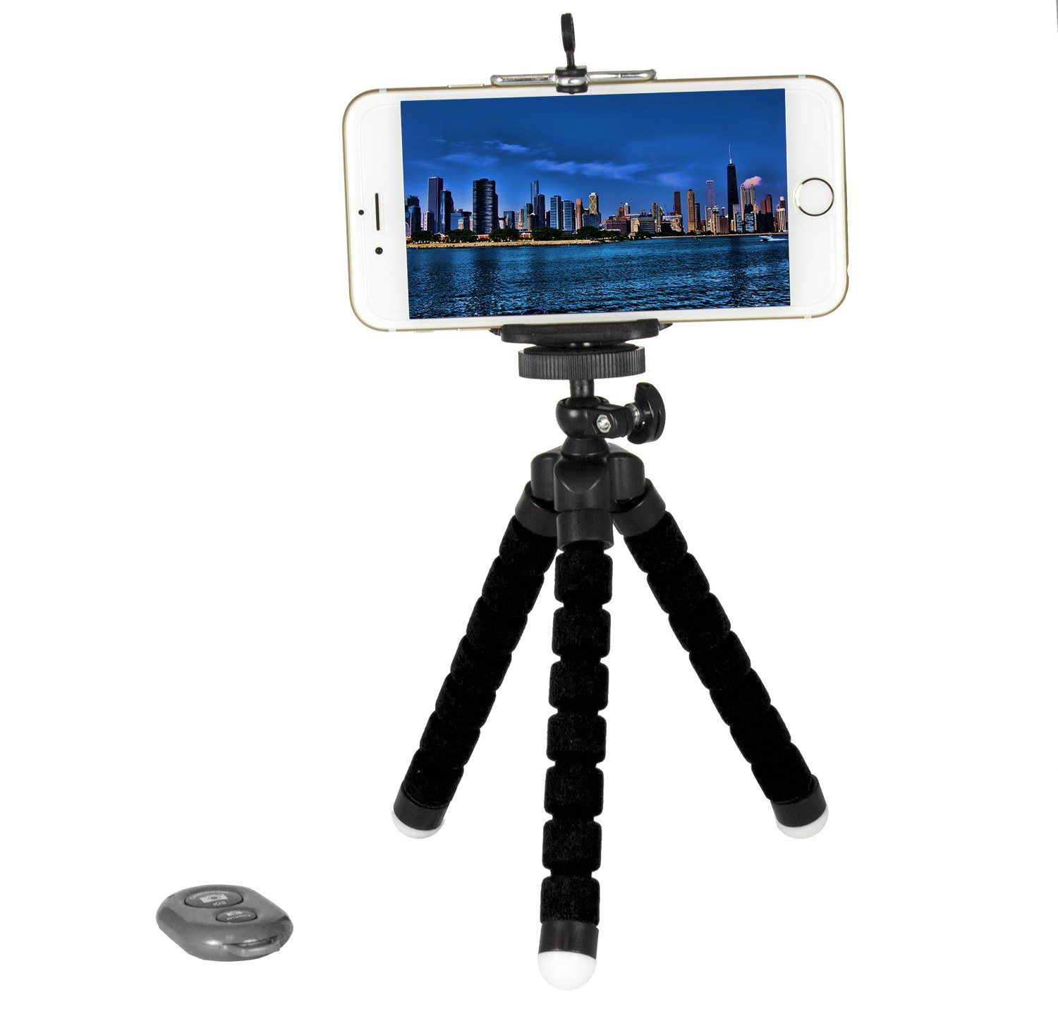 soundlogic xt 3 in 1 selfie tripod kit with wireless bluetooth shutter remote r pda accessories. Black Bedroom Furniture Sets. Home Design Ideas