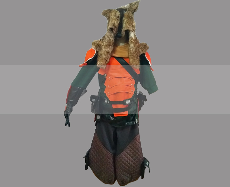 Overwatch Hanzo Skin Lone Wolf Cosplay Costume for Sale