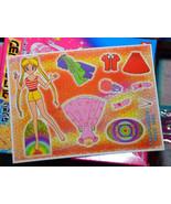 Sailor Moon paper doll sheet vintage pink dress Usagi - $0.98