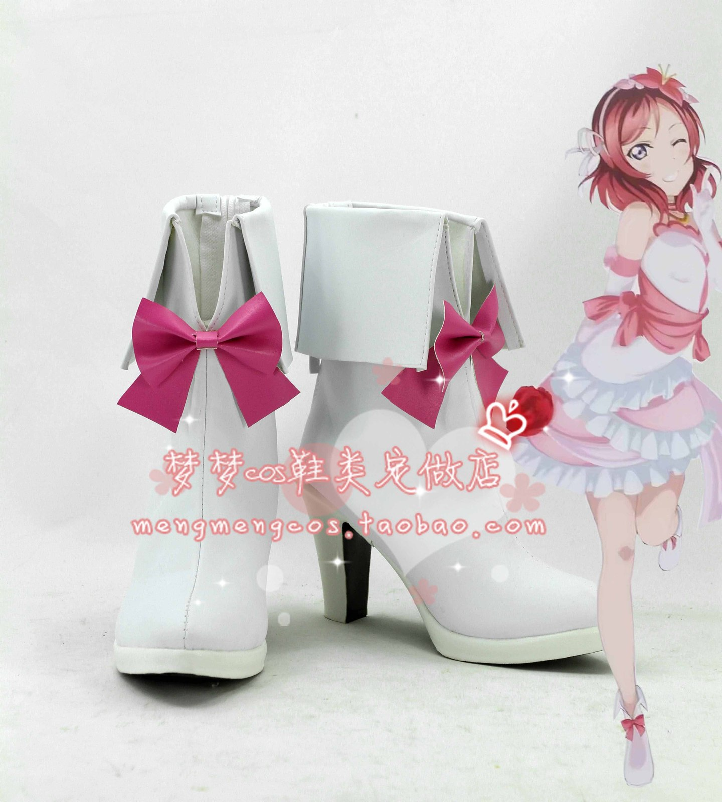 lovelive love live Future style us Maki Nishikino Cosplay Shoes boots  #AT13