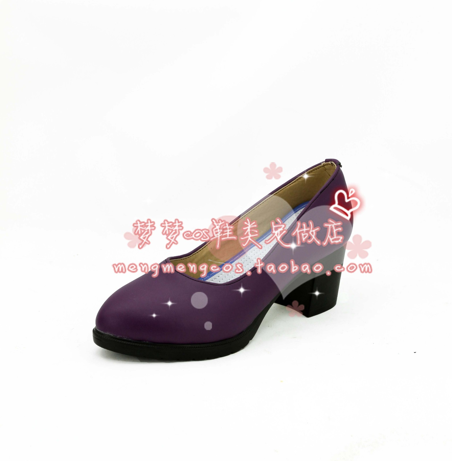 LOL Jinx purple ver high heel cos Cosplay Shoes boots shoe boot #AT18