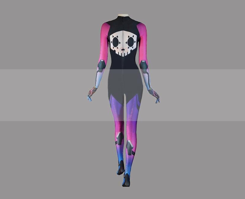 Overwatch Sombra Cosplay Zentai Suit Costume for Sale