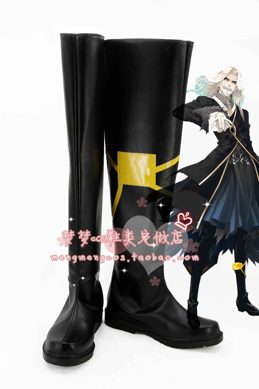FateApocrypha Fate Apocrypha Draculia  Servant cos Cosplay Shoes boots #AT21
