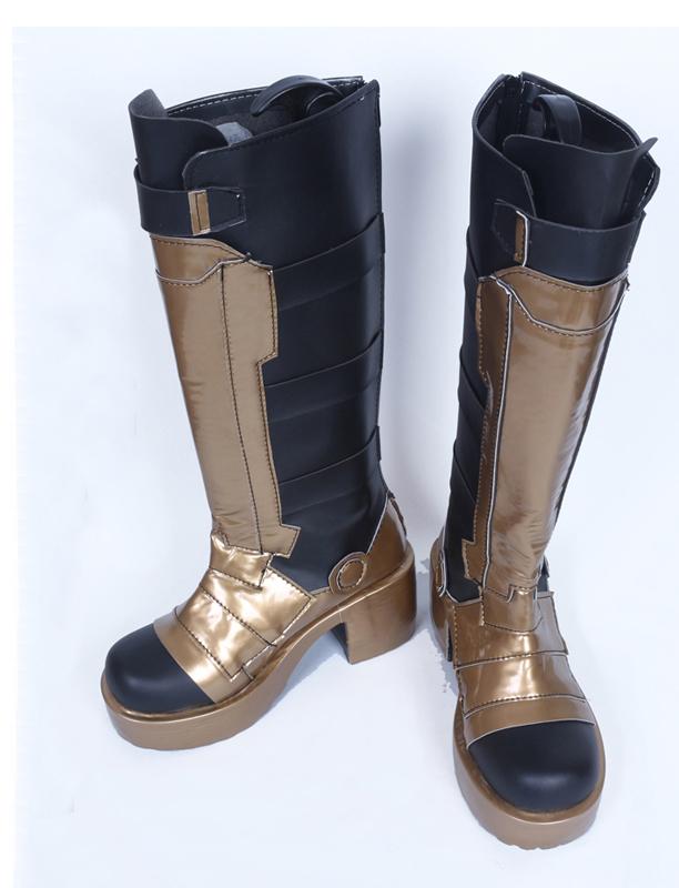 Overwatch Soldier 76 Golden Skin Cosplay Boots Buy