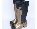 Overwatch soldier 76 golden skin cosplay boots for sale thumb155 crop