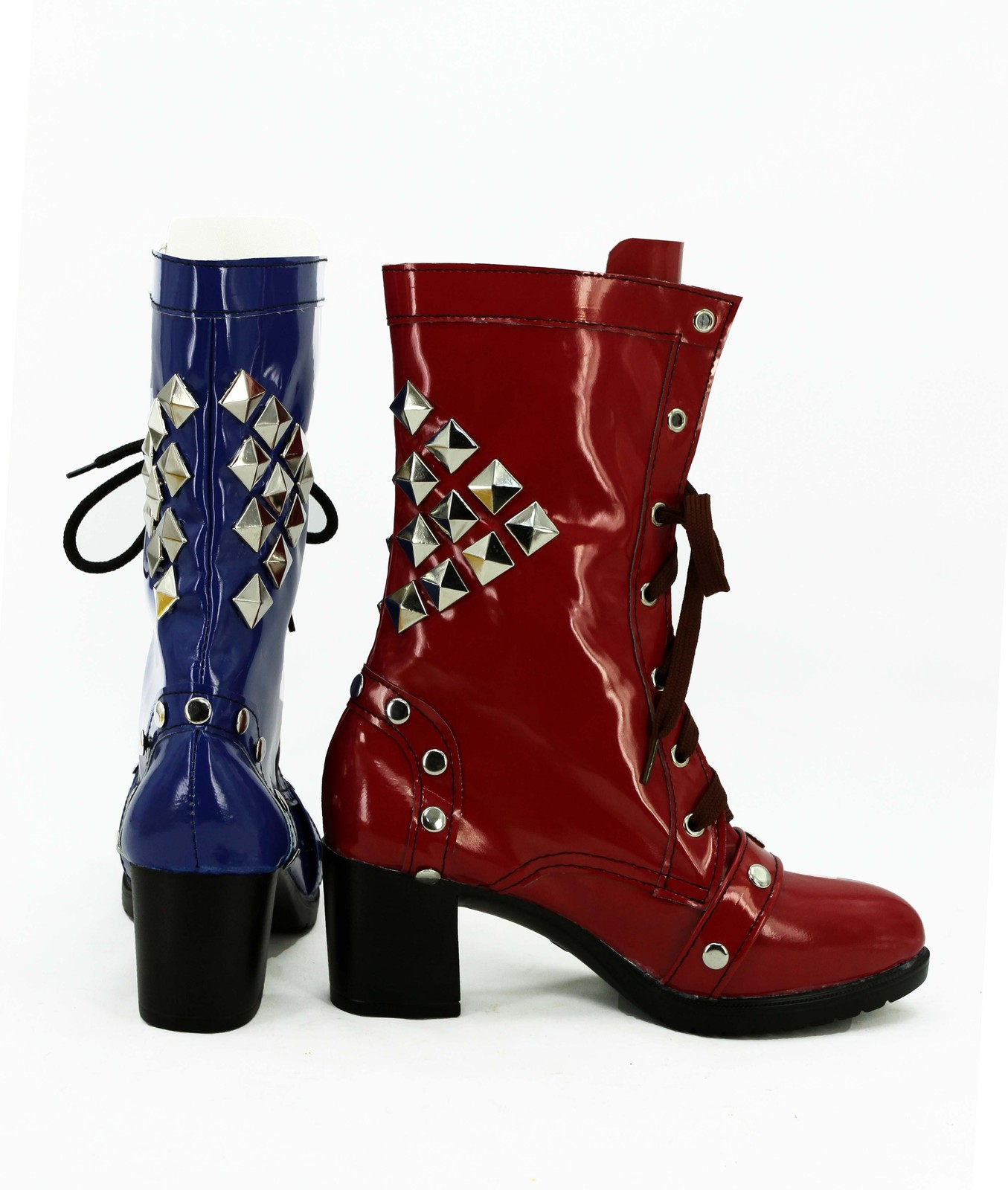 Batman Harley Quinn Arkham Knight cos Cosplay Shoes boots shoe boot #AT24