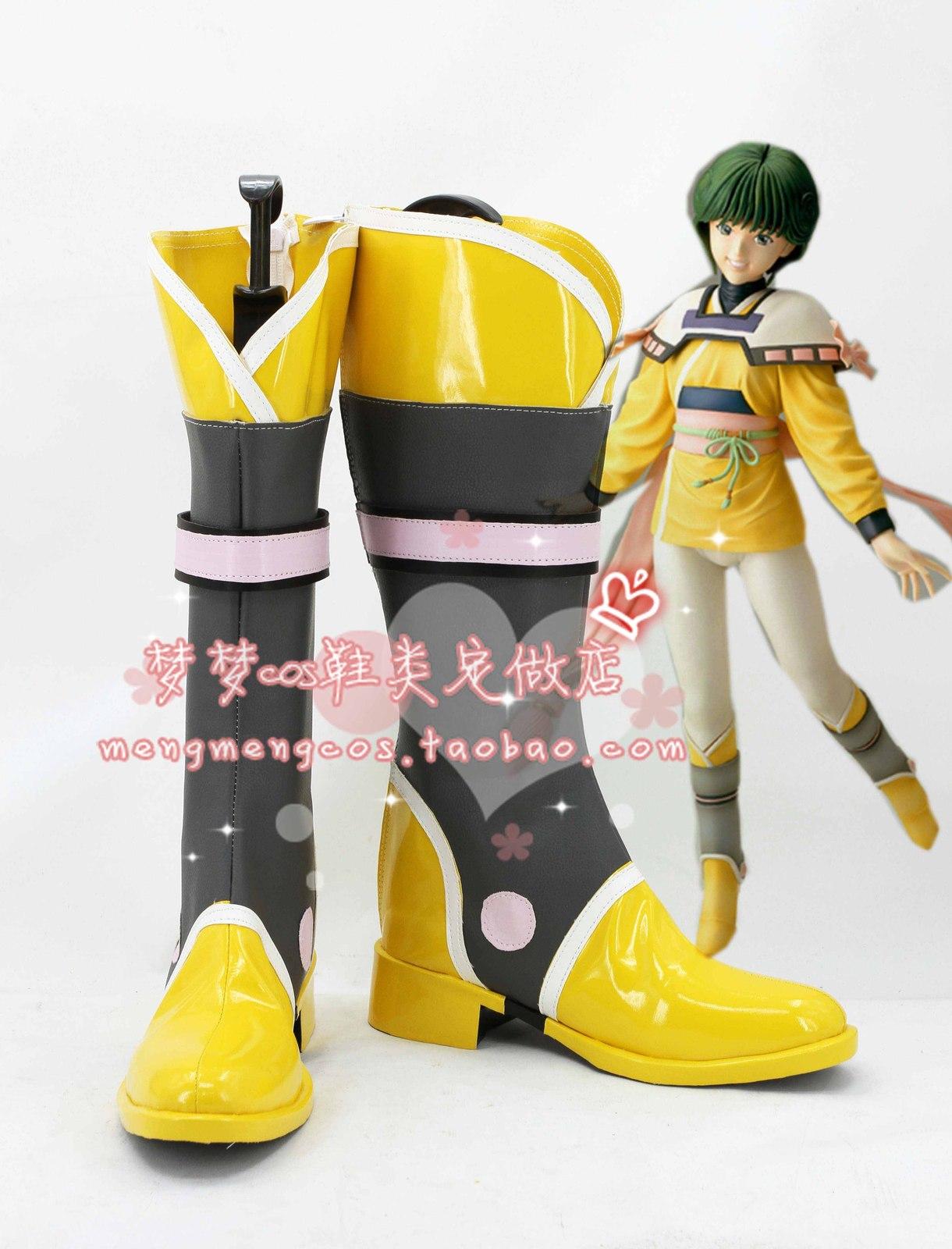 Video Girl ai Denei shoujo Ai Amano Ai new cos Cosplay Shoes boots shoe #AT26
