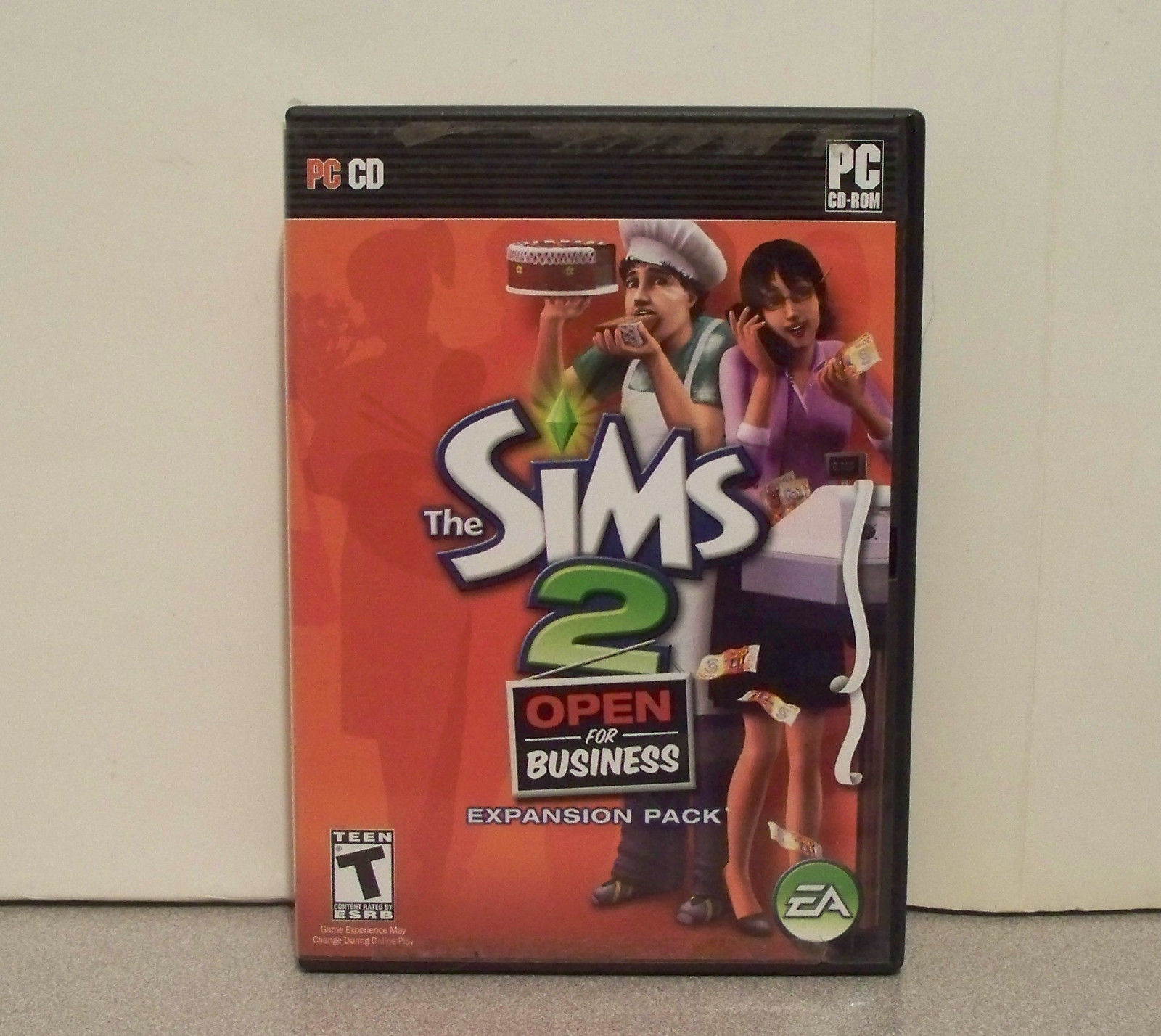 Sims 2: Open for Business (PC, 2006) Expansion Pack With Manual and Install Code