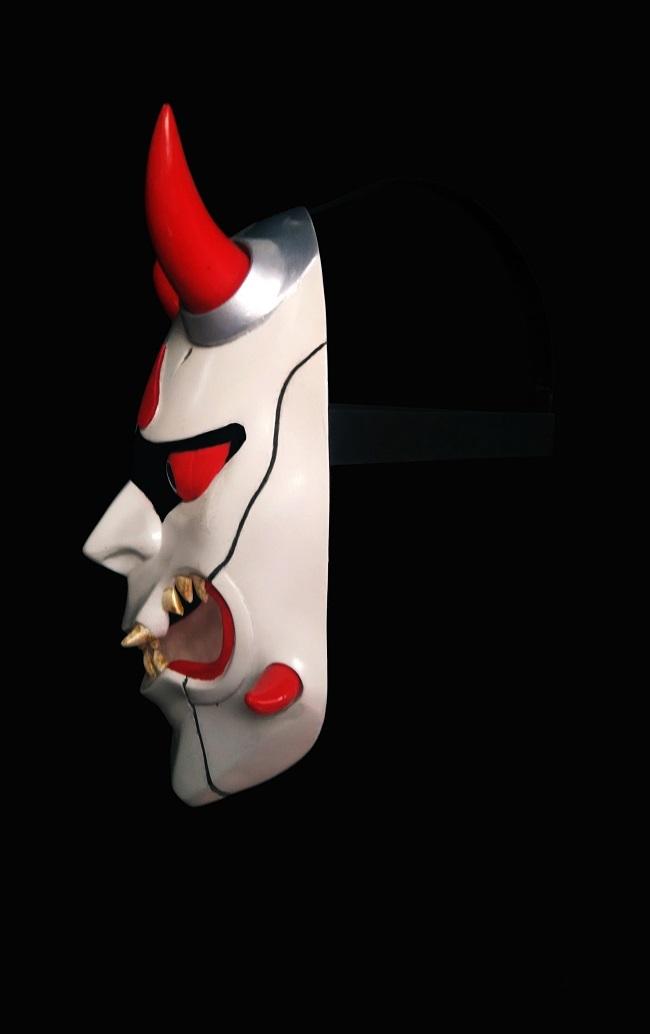 Overwatch Genji Skin Oni Cosplay Mask for Sale