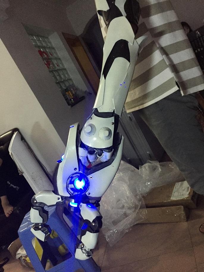 Overwatch symmetra weapon photon projector cosplay replica prop buy