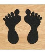 Anti Slip Self Adhesive Feet w/ Toes SMALL 104mm x 57mm Pack = 10 Black/... - $25.55+
