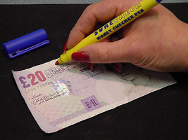 Fake Banknote Detector Pen - Bank Note Authentication Pen (Single) - $13.24