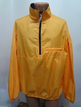 L.L. Bean Mens L Tall Yellow Zip-Front Windbreaker Jacket - $37.73