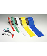 Magnetic Tape / Magnetic Strip, Easy Wipe Racking Strip, 70mm High x 10M... - $95.08
