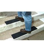 Black Anti-Slip Stair Treads, Adhesive Anti Slip Tape, 150mm x 610mm, Pa... - $45.45