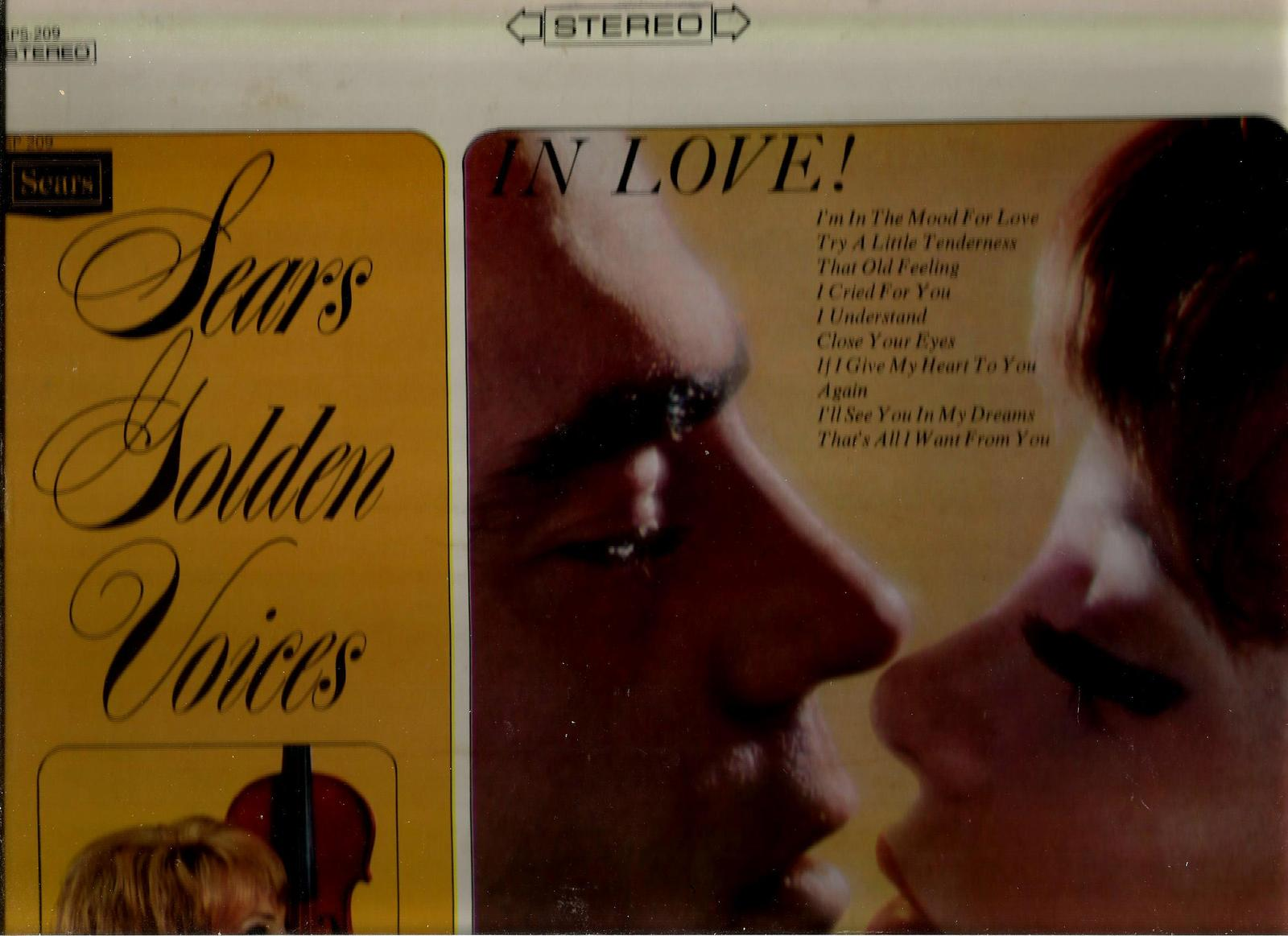 SEARS GOLDEN VOICES  *  IN LOVE  * THE GOLDEN VOICES CHOIR  ~  LP  STEREO