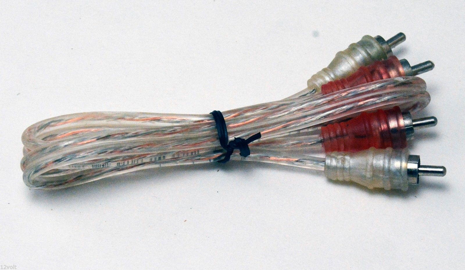 Voodoo RCA Cable 1.6 FT 0.5 Meter Audio Interconnect 100% OFC Copper