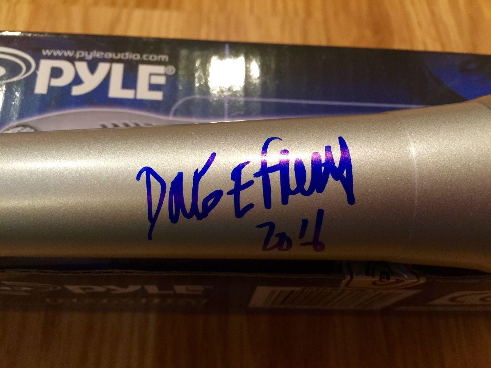 Doug E. Fresh Legendary Hip-Hop Artist Signed Microphone Photo Proof SNOOP DOGG