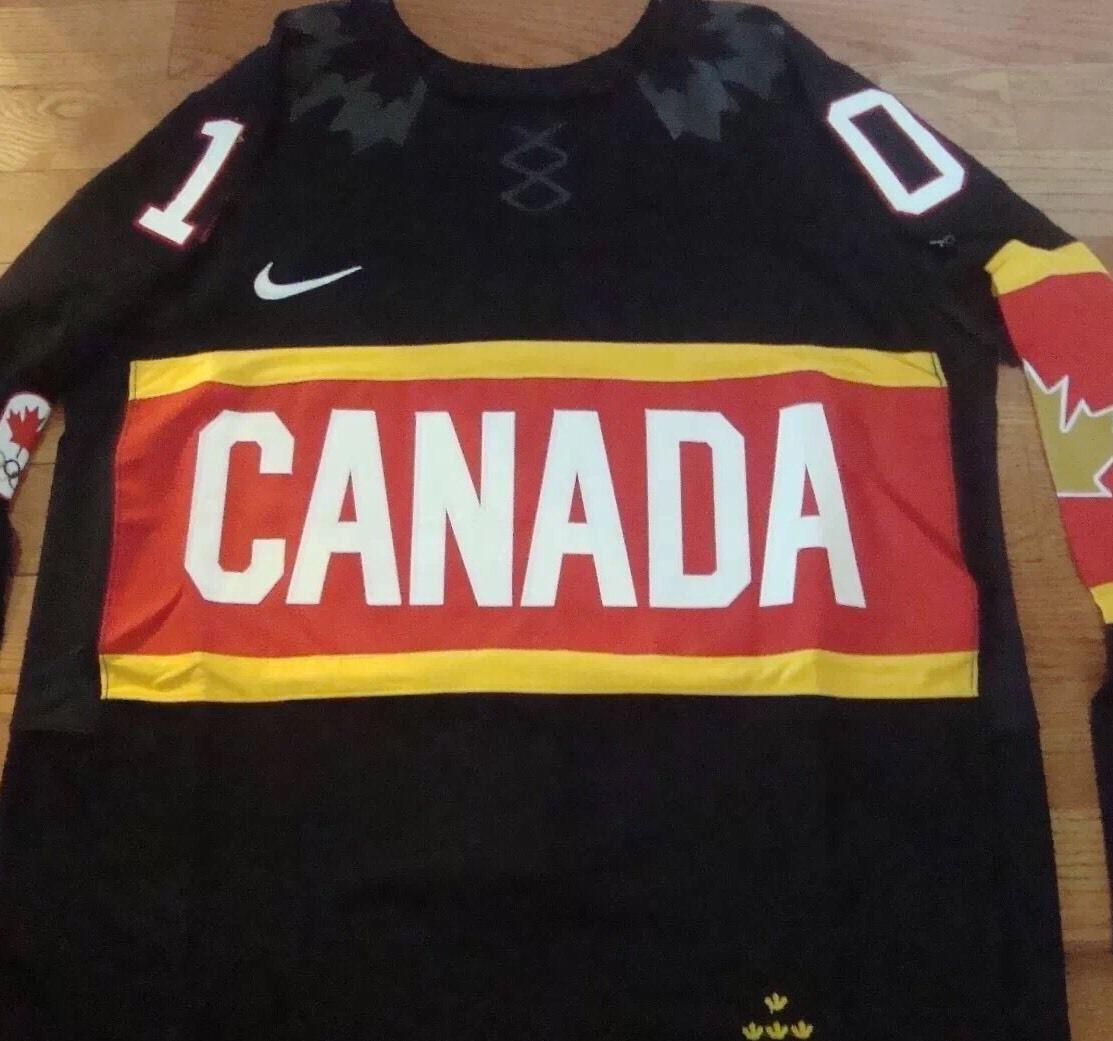 RARE Chicago Blackhawks PATRICK SHARP Signed Team Canada Jersey COA JSA PROOF