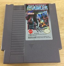 Bad Street Brawler (Nintendo Entertainment System, 1989) Nes Game Tested - $14.03