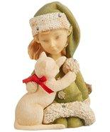 Enesco Heart of Christmas Elf with Kitty Figurine, 2.56-Inch - $34.99
