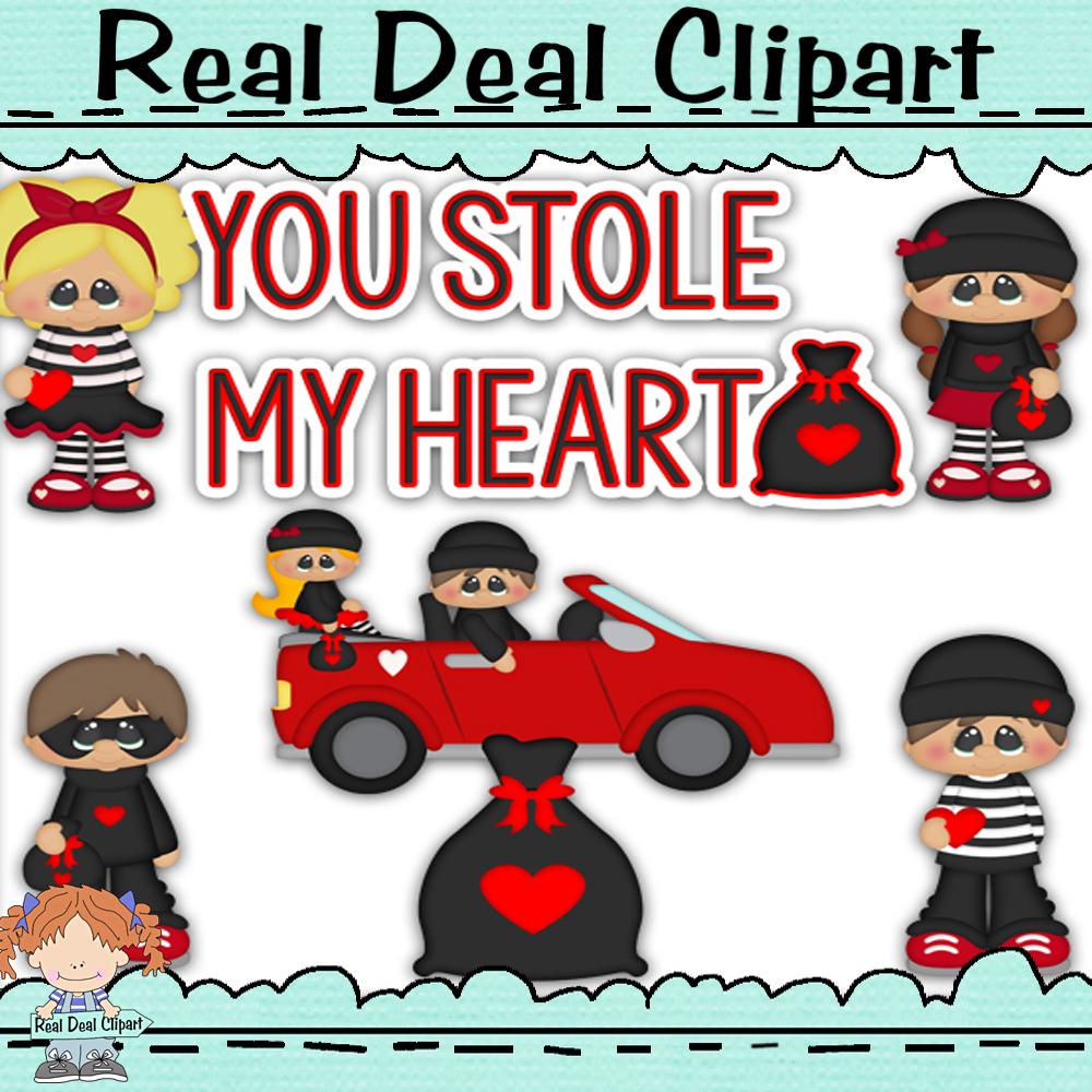 You stole my heart clip art  2
