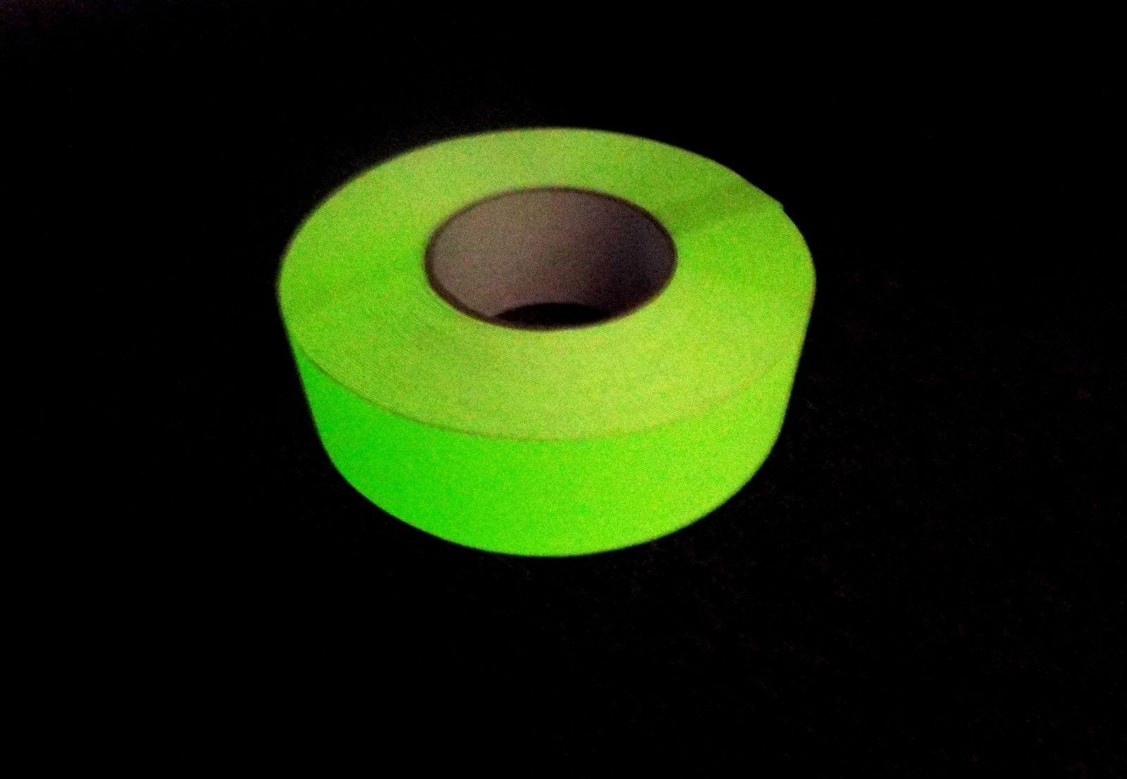 Adhesive Anti-Slip Tape - 50mm wide x 18.3M long - 60 Grit - Photo Luminescent