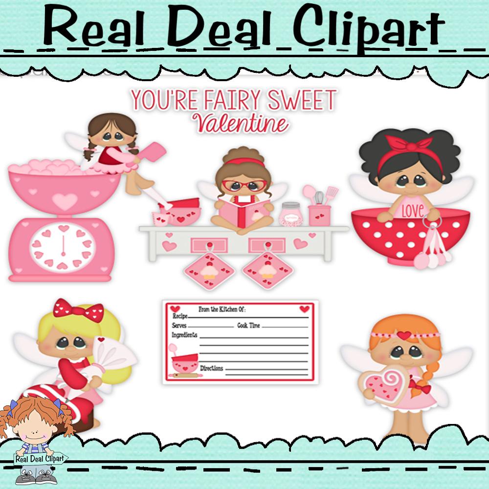 Sweet heart faire clip art