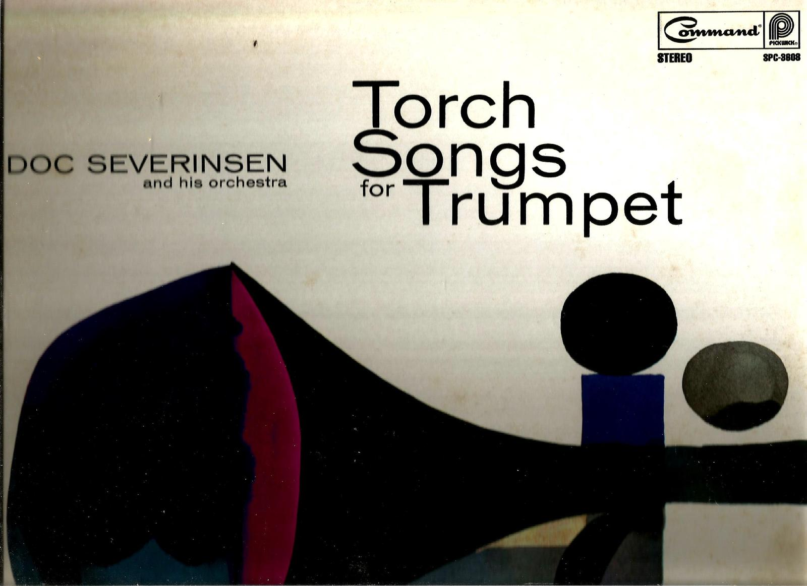 DOC  SEVERINSEN  * TORCH SONGS FOR TRUMPET *  L P  STEREO