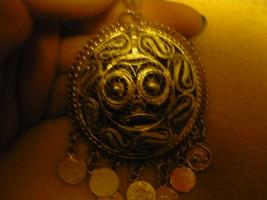 HAUNTED Rare Egyptian Marid Temple Djinn, Female Vintaged witch worn pendent - $300.00