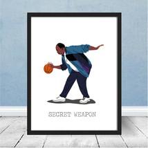 The Office Stanley Hudson Basketball Secret Weapon Dunder Mifflin Gift P... - $7.98