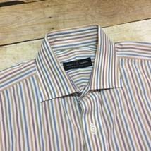 Robert Talbott Bespoke Pastel Striped Men's 15 1/2 French Cuff Dress Shirt - €18,22 EUR