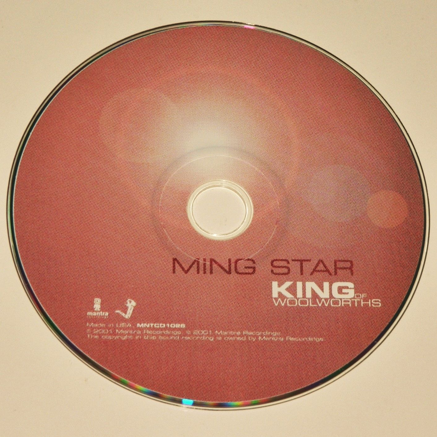 KING OF WOOLWORTHS - MING STAR - Digipak - Jon Brooks Advisory Circle Belbury VG