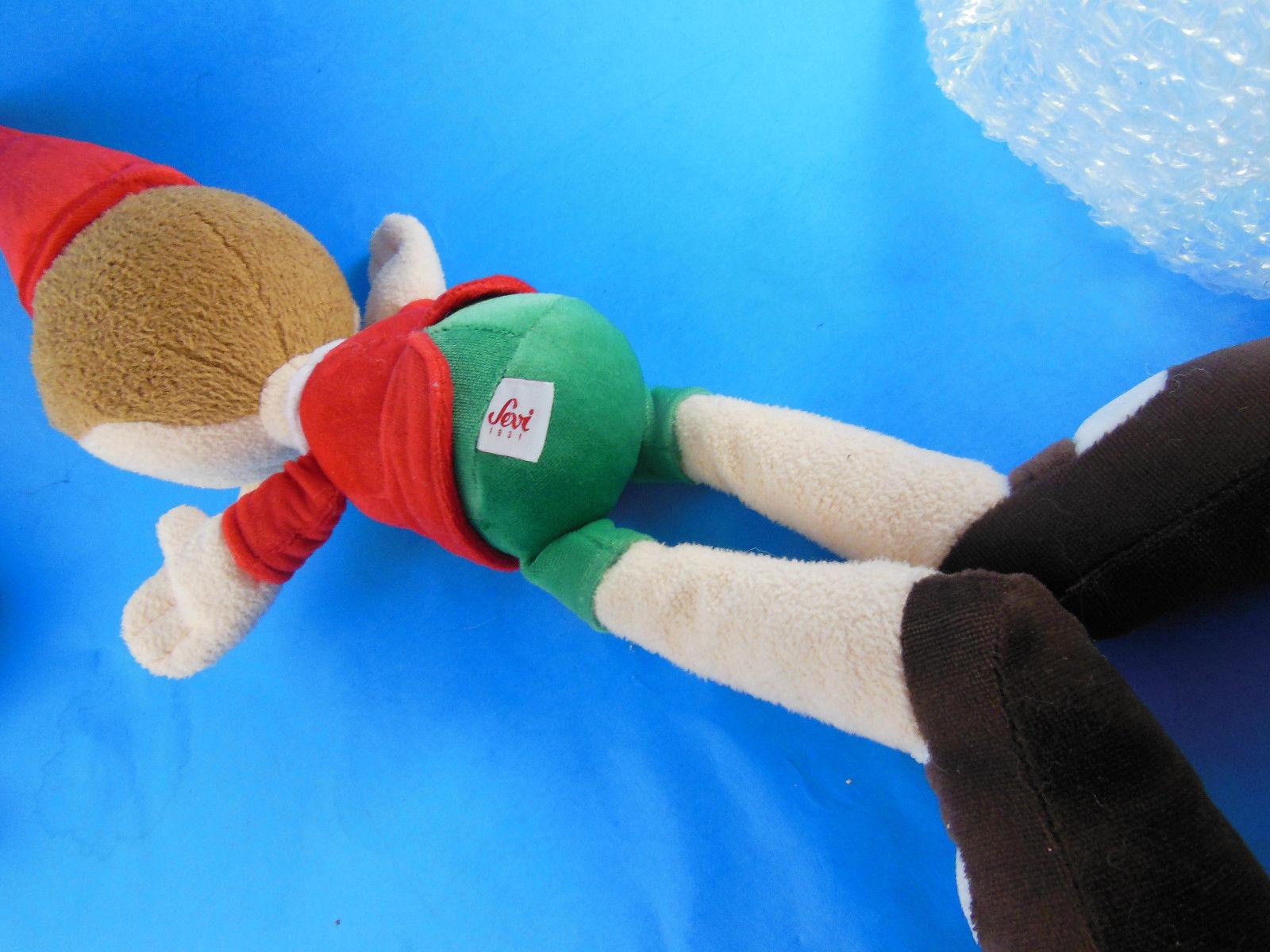 "Sevi PINOCCHIO Elf Doll 17"" Plush Trudi Spa Stuffed ToyPlush toy Rare HTF"