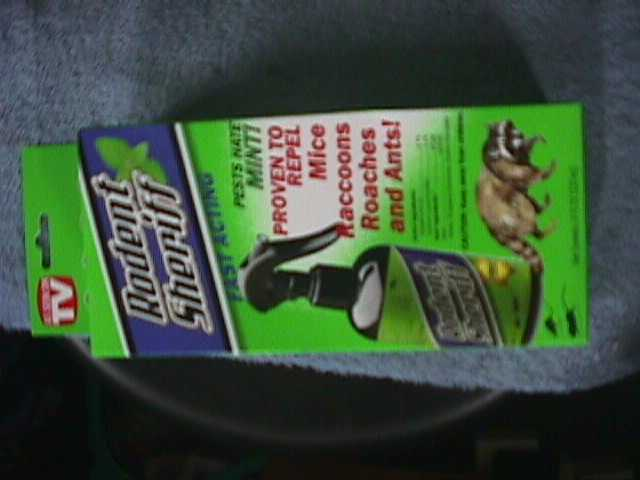 RODENT SHERIFF  (As Seen On TV! !) NEW in box mice raccoons, roaches, ants