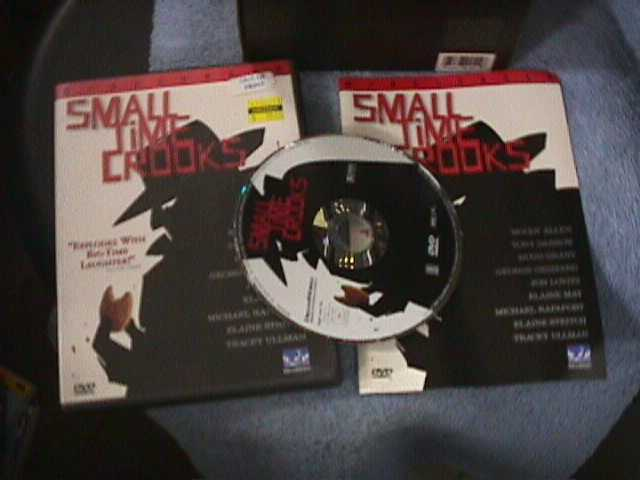 Small Time Crooks (DVD, 2000) Widescreen Free Ship