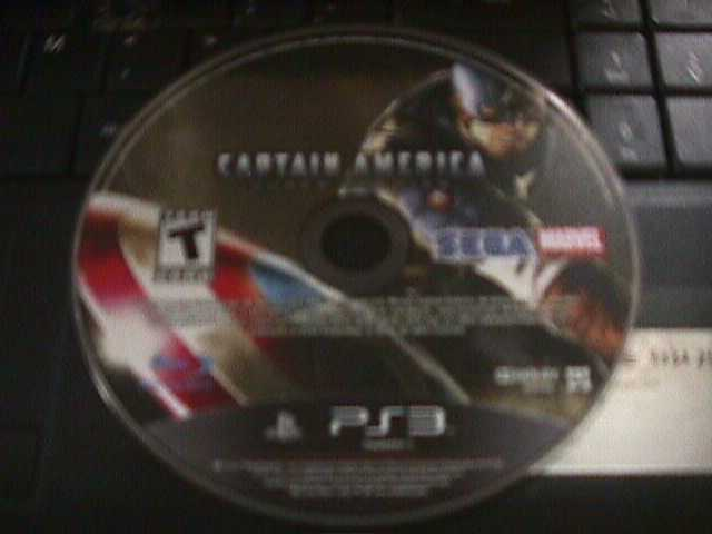 Captain America: Super Soldier Sony PlayStation 3 PS3 *tested* DISC ONLY