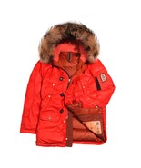 Grunge John Orchestra.Explosion Men's Park A8 Down Jacket PARKA8-RED Red... - $846.15