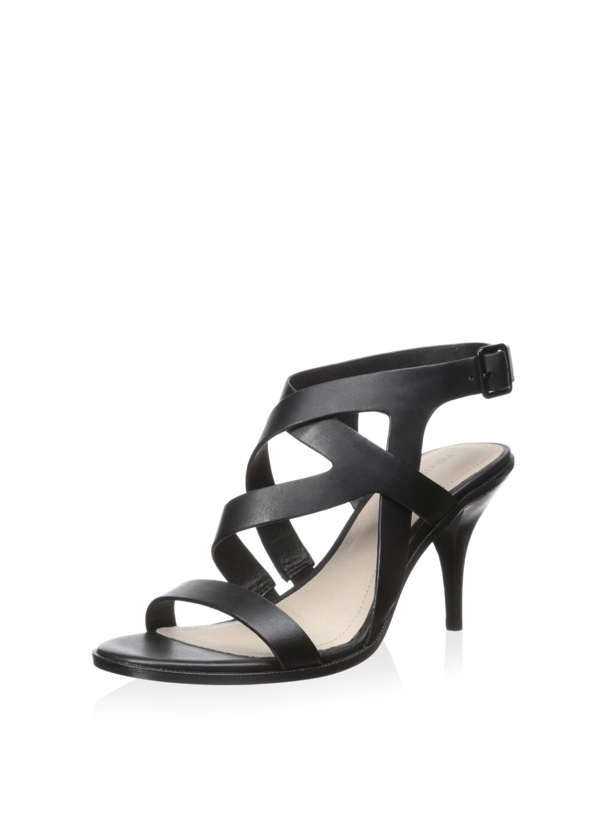 Pour La Victoire Maura Strappy Dress Sandals - Black, 7.5 M US