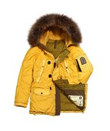 Grunge John Orchestra.Explosion Men's Park A8 Down Jacket PARKA8-YELLOW ... - $846.15