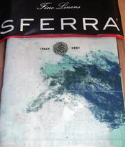 Sferra Tavia Standard Pillow Sham Navy/Cornflower Egyptian Cotton Percal... - $1.125,68 MXN