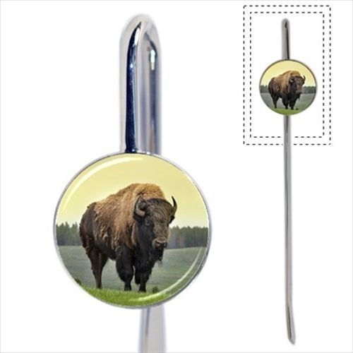 American Bison Bookmark - Book Lover Novelty Gifts