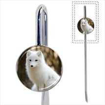 Arctic Fox Bookmark - Book Lover Novelty Gifts - $12.62